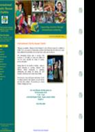 Small business website example 2 - international charity bazaar